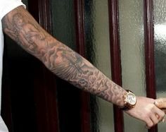 Mens Arm #Tattoo With Cool Design