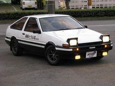 Takumi's AE86