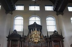 Sephardic Synagogue in Amsterdam...one of the most amazing places I have ever visited!