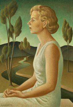 Helen Lundeberg, 'Portrait of Inez,' 1933, Louis Stern Fine Arts