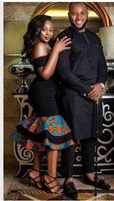 Couples African Outfits, Couple Outfits, Family Outfits, African Attire, African Dress, African Clothes, Girly Outfits, Pretty Outfits, Beautiful Outfits