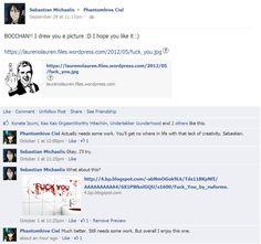 kuroshitsuji facebook   Kuroshitsuji Facebook: Sebastian Draws For Ciel by LeeAnn-Anime-Fan