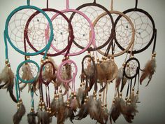 Dream Catchers Hangs Almost 2ft- at check out send me a msg with color choice or I'll pick at random