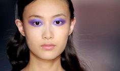 Tendance make up 2012 : on mise tout sur le violet