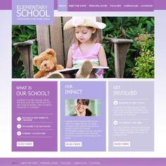 Primary School Premium Moto CMS HTML Template