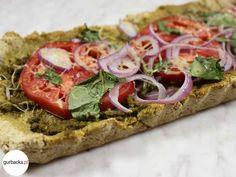 Bruschetta, Vegetable Pizza, Pesto, Gluten Free, Vegetables, Ethnic Recipes, Food, Glutenfree, Sin Gluten