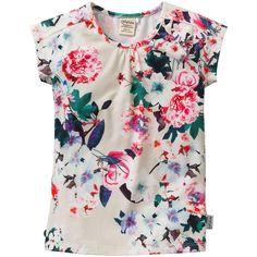 Prachtig wit shirt van Jottum met all over bloemenprint | Olliewood