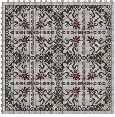 Cross Stitch Borders, Cross Stitch Rose, Cross Stitch Samplers, Cross Stitch Flowers, Cross Stitch Patterns, Beaded Embroidery, Cross Stitch Embroidery, Beading Patterns, Embroidery Patterns