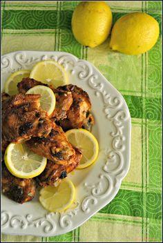 Sweet my Kitchen: Coxas de frango com molho de limão