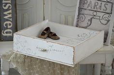 """Kisten & Boxen - *Vintage* Shabby-Holzschublade / """"No.1"""" - ein Designerstück…"""