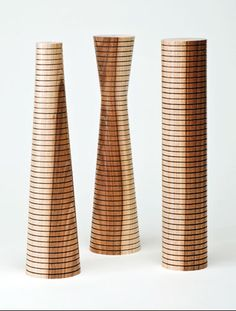 Jabou Design — Grooved turned wood pepper mills, salt mills with the ceramic CrushGrind® mechanism