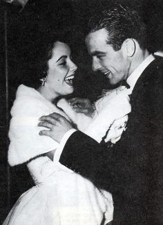 """Elizabeth Taylor and Montgomery Clift. He called her """"Bessie Mae"""", she called him """"Monty"""" the original jack & jen :)"""