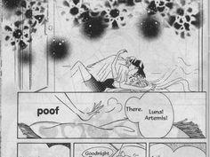 Sailor moon. Darien and Serena. Mamoru and Usagi. Sexy. Kiss.