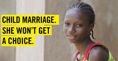 Say NO to Child Marriage Please Read Please Donate