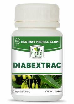 Jual Diabextrac agen stokis resmi HPAI, produk herbal Diabextrac harga murah standar HPA Indonesia di http://www.agenhpai.com/diabextrac.html