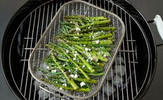Barbecued Asparagus and Green Bean Salad.