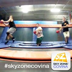 Dodgeball Dominate!! #skyzonecovina #skyzone #fun #jump #covina #california #igers #bounce #kids #teenagers #trampoline #play #fitness #health #foampit #exercise #openjump #exercise #gymnastics #tumbling #workout #fit #fitness #trampoline #birthdayparty