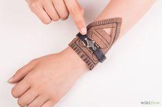 Make Leather Bondage Cuffs Step by step tutorial