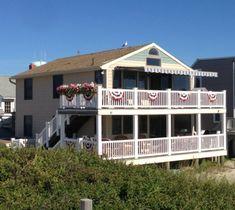 stunning oceanfront gem in beach haven ocean front homes on lbi rh pinterest com