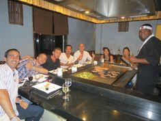 Cena en restaurante temático JAPONES, hotel MELIA VARADERO, VARADERO - CUBA. ABRIL 2013
