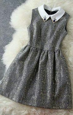 Fashion Woolen Beaded Gold Sleeveless Dress &Party Dress for only ,cheap Fashion Dresses - Clothing & Apparel online shopping, Fashion Woolen Beaded Gold Sleeveless Dress &Party DressI am so happy to find the Fashion Woolen Beaded Gold Sleeveless Dre Casual Dresses, Short Dresses, Fashion Dresses, Girls Dresses, Prom Dresses, Luulla Dresses, Sleeveless Dresses, Fashion Clothes, Pretty Dresses