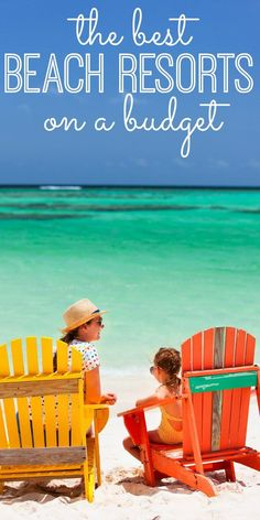 Taking your kids to the beach? Find the 10 best BUDGET beach resorts for kids! From North Carolina to Hawaii - and even Mexico - here are the best resorts for families on a budget. Great travel tips for kids!