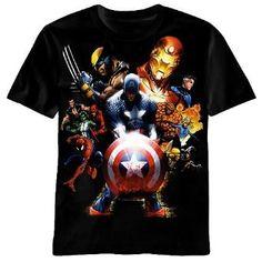 Marvel Captain America Civil War Men/'s Big /& Tall Graphic T-Shirt