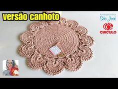 Sousplart magnifico VERSÃO CANHOTO/ por crochê da Nanda - YouTube Free Crochet Doily Patterns, Crochet Mandala, Crochet Doilies, Crochet Videos, Coasters, Crochet Earrings, Projects To Try, Weaving, Make It Yourself