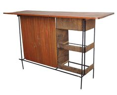 Mid-Century Bar designed by Arther Umanoff for Raymor - $1150.