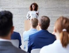 There is often a fine line between workplace diversity and workplace discrimination. When workplace diversity is harnessed, the company can only grow from strength to strength. Sales Presentation, Presentation Styles, New Business Ideas, Business News, Ted Speakers, Staff Meetings, Behavior Change, Young Professional, Public Speaking