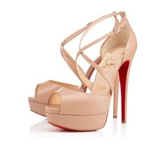 Shoes - Cross Me - **any of the louboutins get you a 3some on your birthday, otherwise look at the two cheaper beige shoes under these**