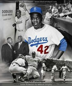 Jackie Robinson Print for Clays party Jackie Robinson quote