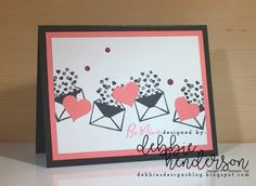 Debbie's Designs: More Paper Pumpkin January 2018 Kit Alternate Projects! Valentine Day Boxes, Love Valentines, Valentine Crafts, Valentine Ideas, Stampin Up Paper Pumpkin, Pumpkin Cards, Paper Cards, Stamping Up, Cool Cards
