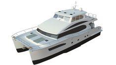 72 Foot Catamaran Excitement | Standen Marine Catamaran Yachts, Power Catamaran, Yacht Builders, Lower Deck, Construction Process, Motor Yacht, Big Challenge, Fuel Economy, Boats