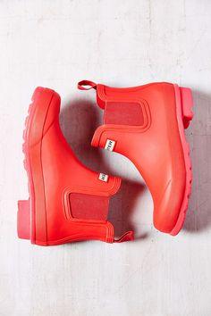 Hunter Original Neon Short Rain Boot