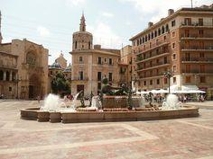 Valencia - fantastic fountain