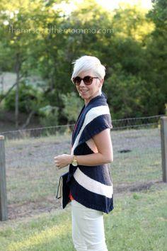 Smart Style: Nautical Navy {plus coral & white} @CAbi Clothing