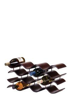 Bali Ebony 12 Bottle Wine Rack on @HauteLook