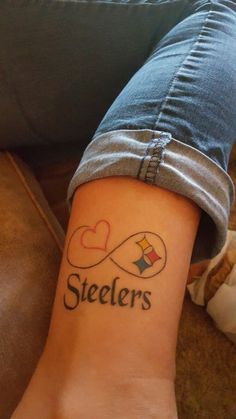 My Steelers tattoo ♡