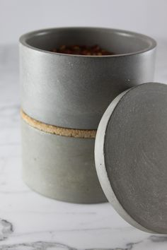 Stackable Concrete Bowls by Culinarium