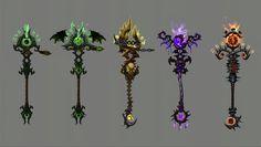 MMO-Champion - Destruction Warlock Artifact Weapon for Legion