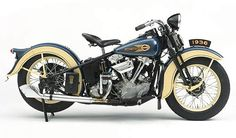 Harley-Davidson 1936 Knucklehead   1936 Harley Davidson Knucklehead, en cuidesumotor.com