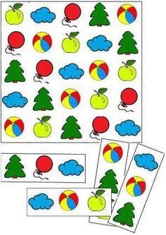 """Игра """"Найди фрагмент"""" помогает развить зрительное восприятие и память у ребенка."""