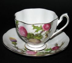 Dundee Thistle Tea Cup