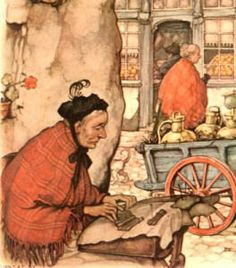 Single Lacemaker - Anton Pieck