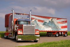 Tricked Out Big Rigs | Custom Rigs and Advertising
