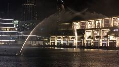 The Most Romantic Show- Dancing Fountain Dubai 2018