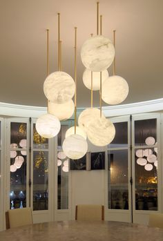 The Beautiful Luna Chandelier Makes A Remarkable Addition To This Luxury Dining Room DiningRoom