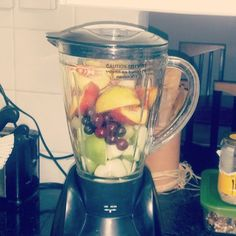 #Fruit #Smoothie - #Before