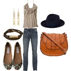 New Orleans bound on a casual weekend, created by jennifer-donahue on Polyvore